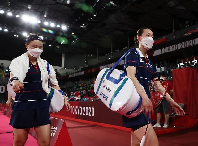 [도쿄올림픽 2020] 배드민턴 이소희-신승찬, 4강서 패배…동메달전으로