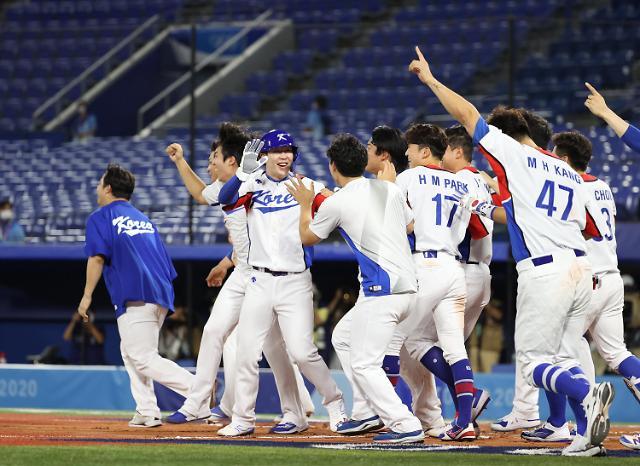 [도쿄올림픽 2020] 한국 야구, 미국 꺾으면 일본과 맞대결