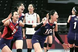 [2020東京五輪] バレーボール女子「韓日戦」で韓国勝利・・・ 3連勝で8強進出