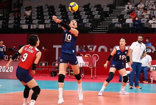 【东京奥运会】韩国女排力挫日本队晋级八强