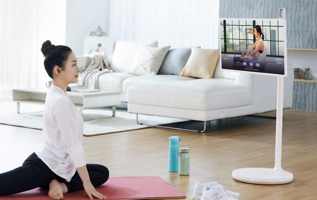 """LG TV로 완벽한 홈트하세요""…'LG 피트니스' 서비스 시작"
