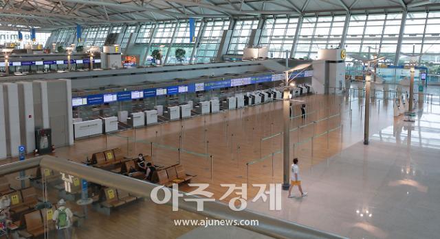 [포토] 한산한 인천공항 출국장