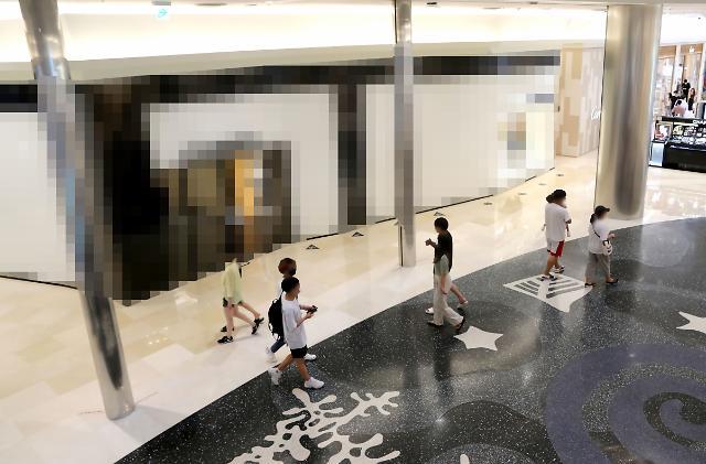 부산 신세계 센텀 샤넬 매장 집단감염 시작은 직원 휴게 공간