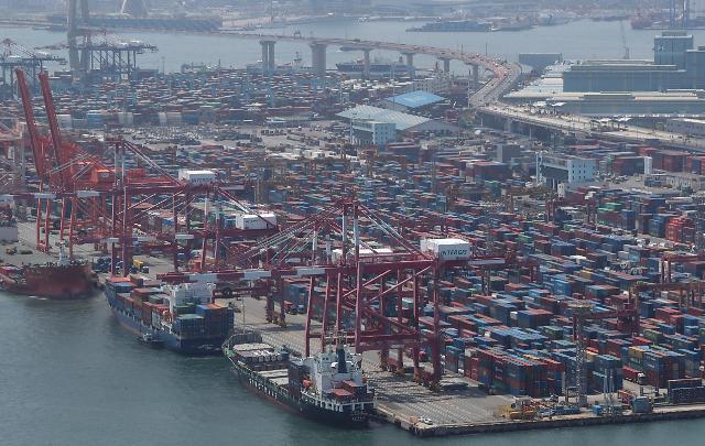 韩国7月出口创65年来单月最高