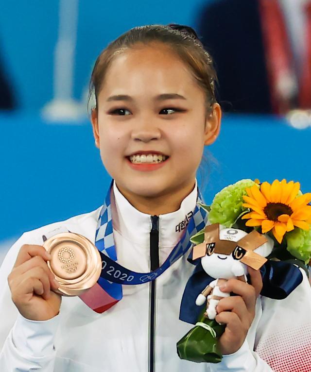 [도쿄올림픽 2020] 여서정, 동메달 미소 (포토)