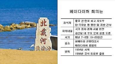 [특파원스페셜]올 여름 중국 차기 권력구도 그려지나