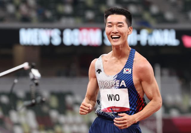 [도쿄올림픽 2020] 한국 신기록 넘은 우상혁, 메달 도전 중