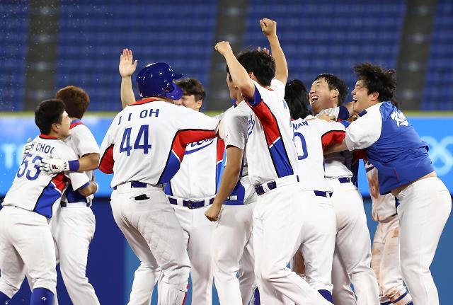[도쿄올림픽 2020] 야구, 약속의 9회 선보였다... 도미니카에 대역전승
