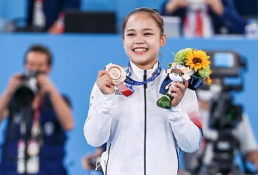 【东京奥运会】吕书晶获女子跳马铜牌