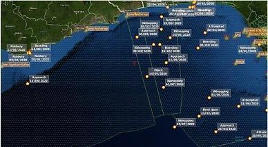 서아프리카 해역서 피랍된 한국 선원 4명 무사 석방...건강 양호