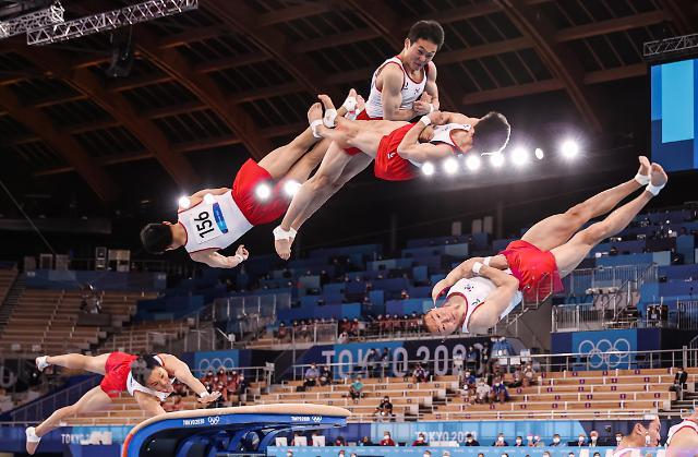 [도쿄올림픽 2020] 신재환의 금빛 비행 (포토)