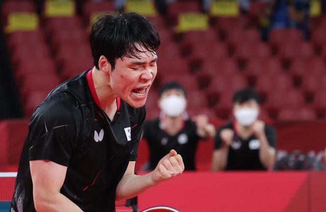 메달까지 1승 남자탁구 중국과 준결승전 격돌
