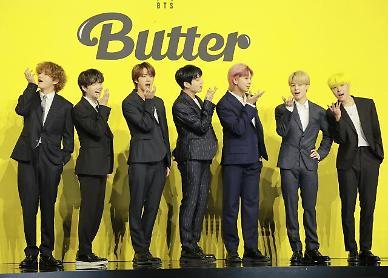 방탄소년단 버터 10주째 빌보드 정상