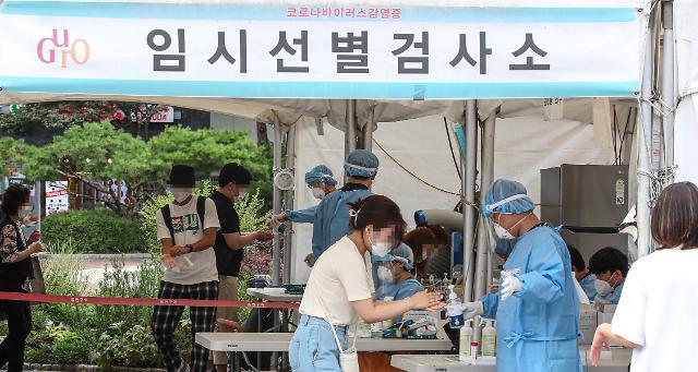 韩国新增1202例新冠确诊病例 累计202203例