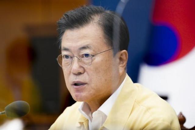 """文대통령 """"방역·민생이 남은 임기 책무…막중한 책임감"""""""
