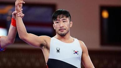 [도쿄올림픽 2020] 출발 좋은 류한수, 레슬링 그레코로만형 67㎏급 16강 진출