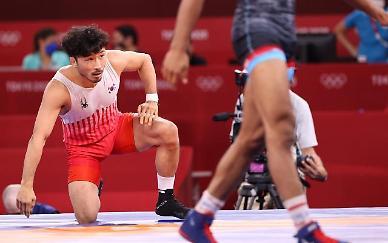 [도쿄올림픽 2020] 류한수 16강 탈락…한국 레슬링 45년 만에 노메달