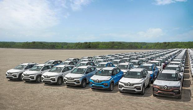 [NNA] 르노, 印에서 SUV 카이거 남아공에 수출 개시