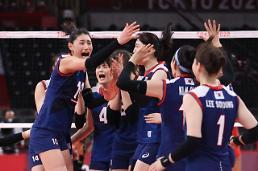 [2020東京五輪] バレーボール女子、ドルコを破って9年ぶりに4強進出