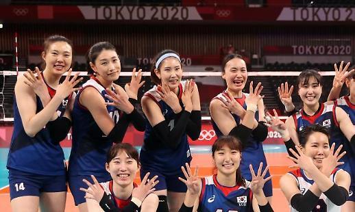 【东京奥运会】金软景独揽28分 韩国女排时隔9年再进四强