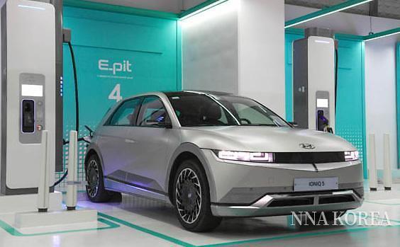 현대자동차의 EV충전소 E-pit