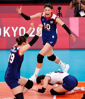 【东京奥运会】金软景个人得分累计115分 排名奥运会女排选手第2位