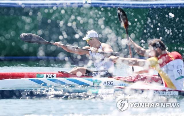 [도쿄올림픽 2020] 조광희, 카약 싱글 200m 결승 B서 5위