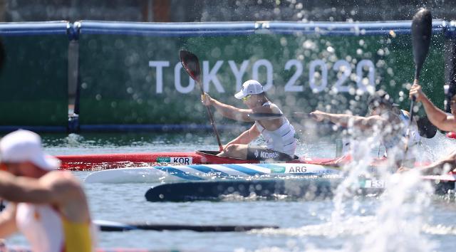 [도쿄올림픽 2020] 역주하는 조광희 (포토)