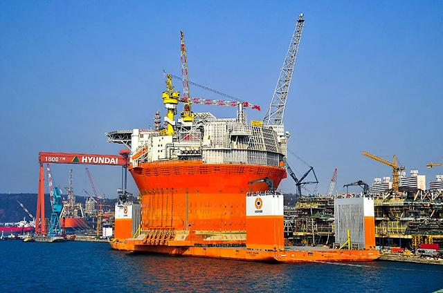 Hyundai shipyard wins $577 mln order from U.S. oil company to build floating production system