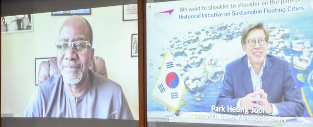 Busan presents itself as suitable UN partner to build prototype of sustainable floating city