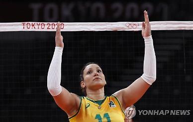[도쿄올림픽 2020] '여자 배구 4강 상대' 브라질 주전 선수, 도핑 적발