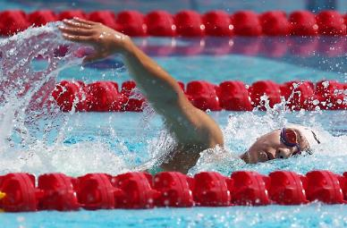 [도쿄올림픽 2020] 근대5종 여자부 수영 김선우 12위·김세희 21위