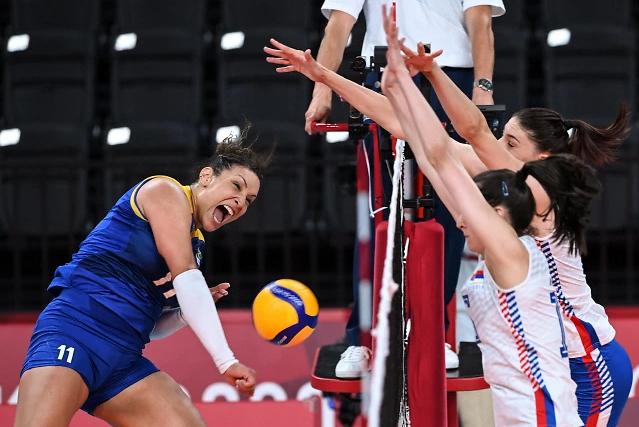 【东京奥运会】巴西女排主攻手兴奋剂检测呈阳性 将缺席半决赛对韩国一战