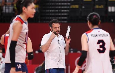[도쿄올림픽 2020] 여자 배구, 브라질에 0-3패...사상 첫 결승 진출 실패