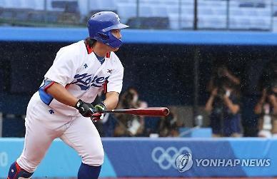 [도쿄올림픽 2020] 강백호 태도에 日 언론 벤치에 앉아 껌 씹으며...