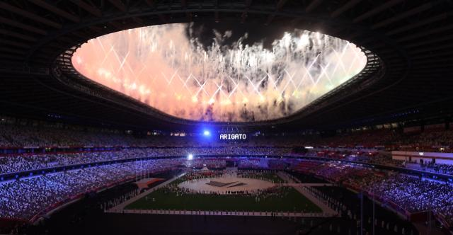 """[도쿄올림픽 2020] 文 """"메달 색깔 중요치 않아…국민·선수단께 깊은 감사"""""""