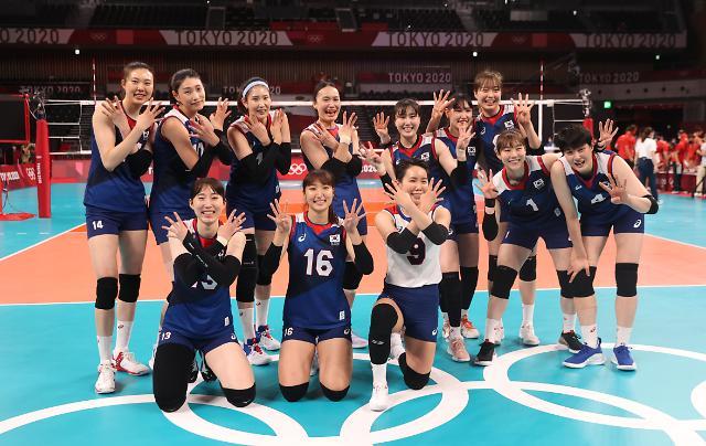 晋级四强即创造历史 韩国重奖女排代表队