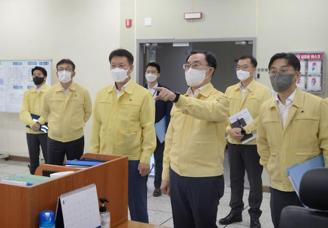 문승욱 장관, 백신 원부자재 기업 싸이티바에 국내 투자 독려
