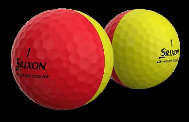 골프공 색감에 빠져든 골퍼들
