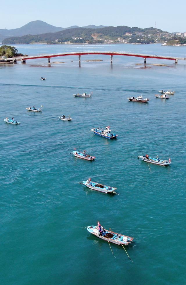 상반기 국내 어업생산량 전년比 5.2% ↑…양식업·원양어업 생산증가 견인