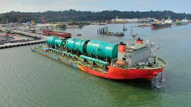현대엔지니어링, 인도네시아 현장으로 3400톤 중량물 운송작전 성공