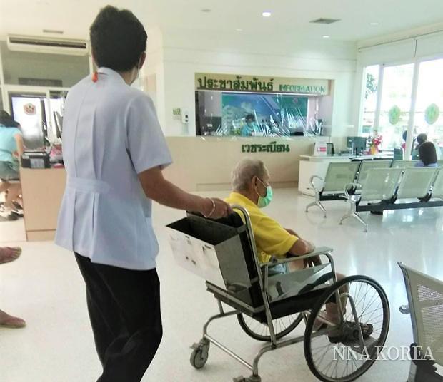 태국 나바베지국제병원 내부