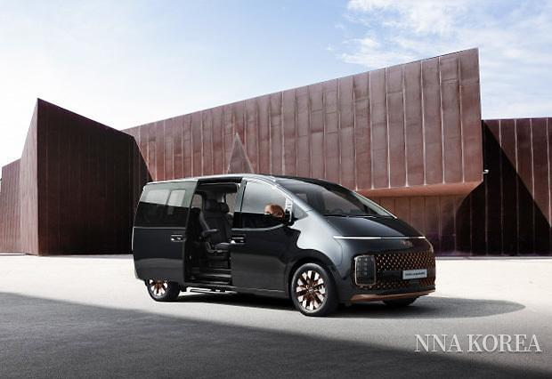 현대차가 출시한 스타리아의 택시 모델
