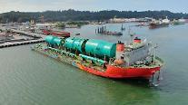 現代エンジニアリング、インドネシア現場に3400トン重量物の運送作戦に成功