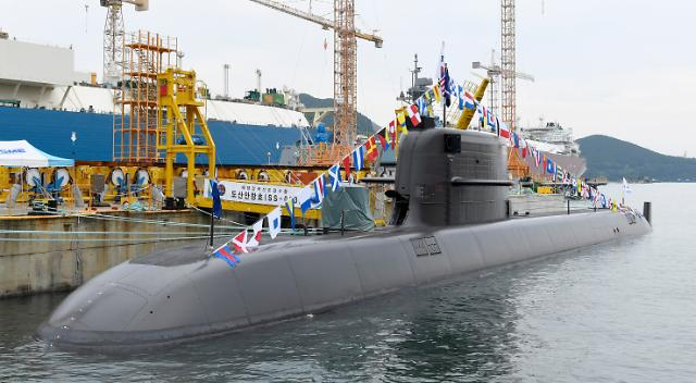 S. Koreas first 3,000-ton sub capable of firing ballistic missiles delivered for mission