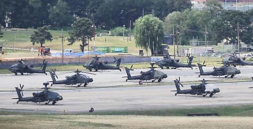 韩美启动下半年联合军演