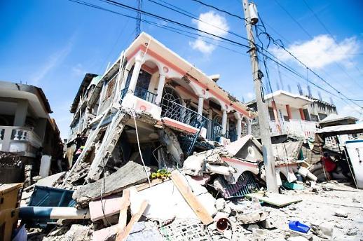 文在寅就海地地震向海地总理亨利致慰问电