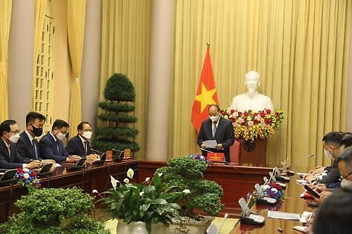 为支援越南新冠疫苗项目 韩企合计捐资超5000万元