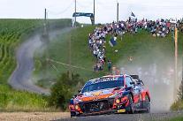 現代自、2021 WRC・ベルギーラリーで「シーズン最高の成績」