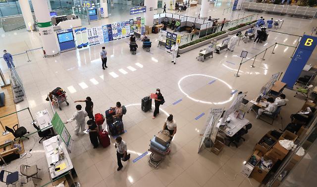 统计:上半年访韩外国游客同比减95.4%